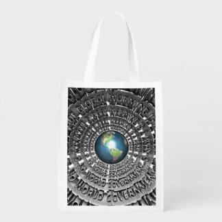 No World Government Grocery Bag