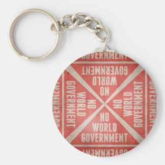 No World Government Keychain