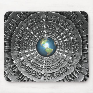 No World Government Mouse Pad