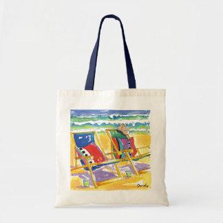 No Worries Beach tote bag