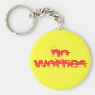 No Worries Keychain