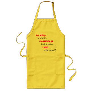 No Worries Long Apron