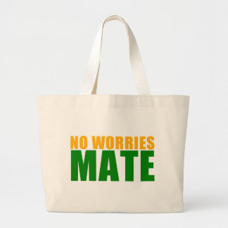 no worries mate canvas bags