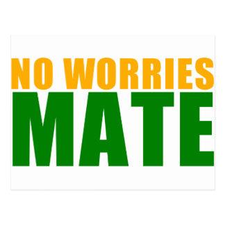 no worries mate postcard