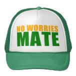 no worries mate trucker hat