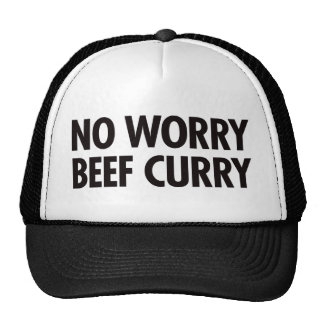 No Worry Beef Curry Trucker Hat