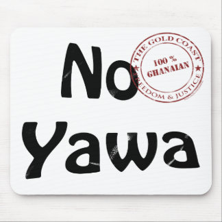 no yawa mouse pad
