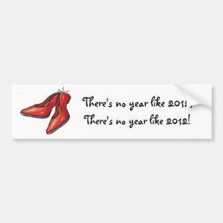 No year like 2012 bumper stickers