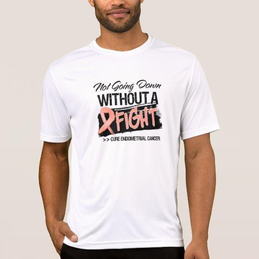 No yendo abajo sin un cáncer endometrial de la luc camiseta