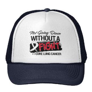No yendo abajo sin una lucha - cáncer de pulmón gorro de camionero