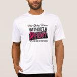 No yendo abajo sin una lucha - mieloma múltiple camisetas