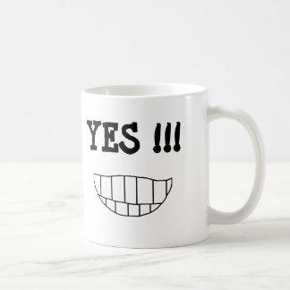 NO !!! YES !!!  - a 2-sided mug