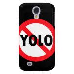 NO YOLO!!! BLK SAMSUNG GALAXY S4 CASE
