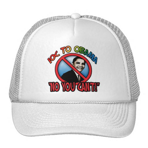 No You Can't Trucker Hat