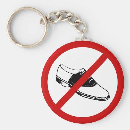 no-zapatos llavero personalizado