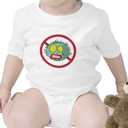 No-Zombie logo - get rid of zombies! T-shirt