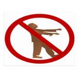 No Zombies Postcards