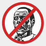no-zombies sticker