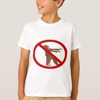 No Zombies T-Shirt