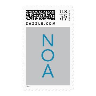 Noa Bar Mitzvah Postage