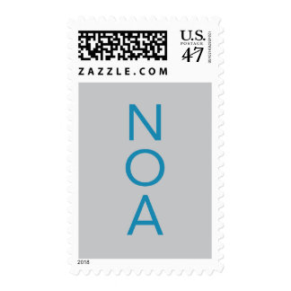 Noa Bar Mitzvah Postage Stamp