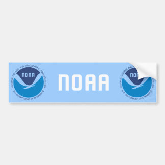NOAA ETIQUETA DE PARACHOQUE
