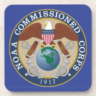 NOAA Commissioned Corps Coaster