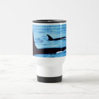 Noaa de las ballenas del agujero del Taza-soplo Taza De Viaje