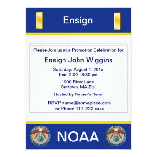 NOAA Ensign Invitation
