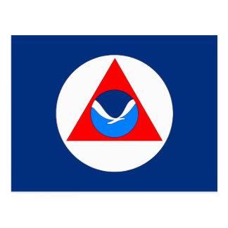 NOAA Flag Postcard