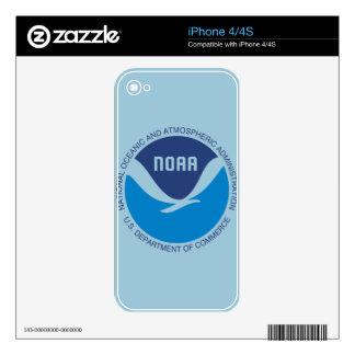 NOAA iPhone 4S DECALS