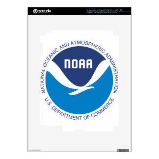 NOAA iPad 3 PEGATINAS SKINS