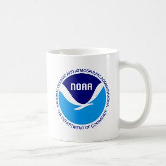 NOAA CLASSIC WHITE COFFEE MUG