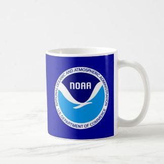 NOAA NATIONAL OCEANIC AND ATMOSPHERIC ADMIN CLASSIC WHITE COFFEE MUG