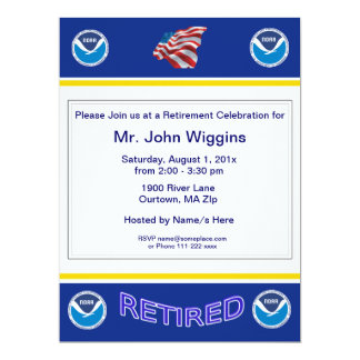 NOAA Retirement Invitation