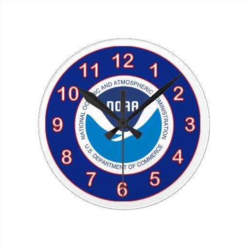 NOAA Wall Clock
