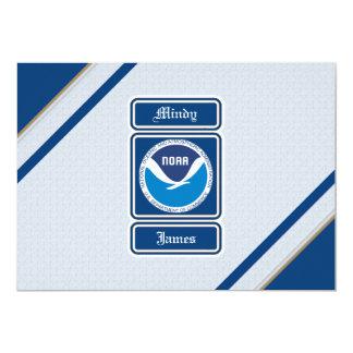 NOAA Wedding RSVP Cards
