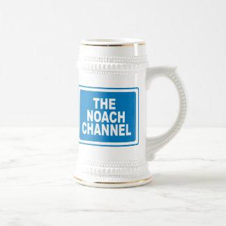 Noach Channel Beer Stein
