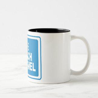 Noach Channel Two-Tone Coffee Mug