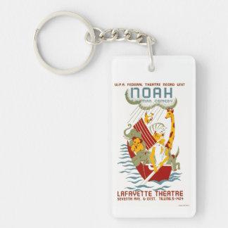Noah ~ A Human Comedy Keychain