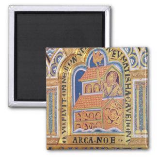 Noah and Ark, detail one of panels Verduner Magnet