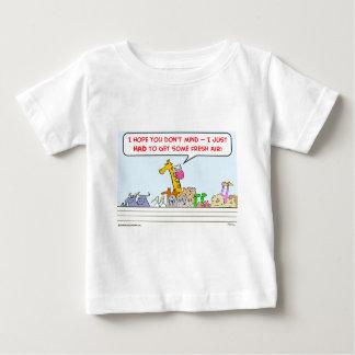 noah ark fresh air giraffe baby T-Shirt