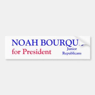 Noah Bourque Bumper Sticker Car Bumper Sticker