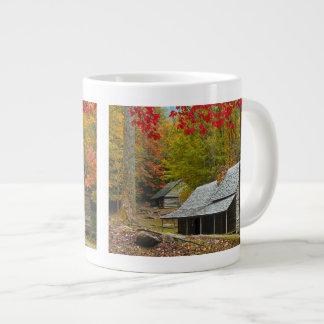 "Noah ""Bud"" Ogle Cabin in the Smokies Giant Coffee Mug"