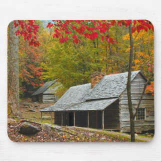 """Noah """"Bud"""" Ogle Cabin in the Smokies Mouse Pad"""