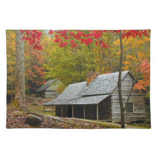 """Noah """"Bud"""" Ogle Cabin in the Smokies Placemat"""