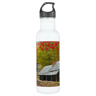 """Noah """"Bud"""" Ogle Cabin in the Smokies Stainless Steel Water Bottle"""