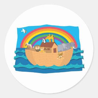 Noah Classic Round Sticker