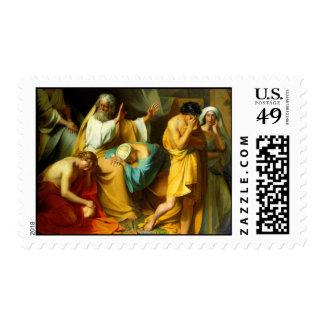 Noah curses his son Ham Postage