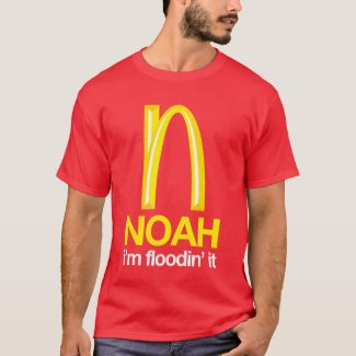 Noah - i'm floodin' it shirt
